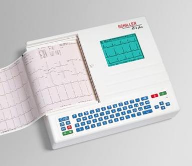 schiller portable EKG